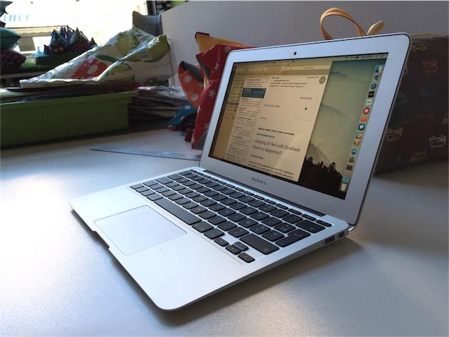 tests  test du macbook air core i debut