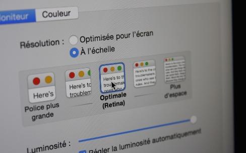 OS X10.10.3 simplifie un petit peu la 4K sur Mac