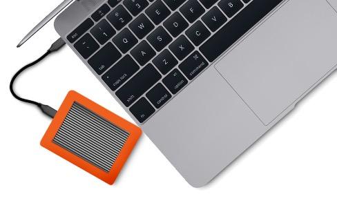 CalDigit Tuff: un LaCie Rugged en USB C