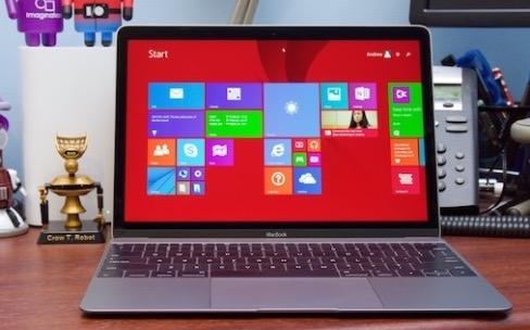 Les aléas de Windows sur le nouveau MacBook