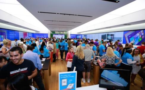 Les Microsoft Store sortent enfin d'Amérique du Nord