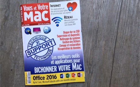 Avosmac et Vous et Votre Mac de mai sont en kiosques
