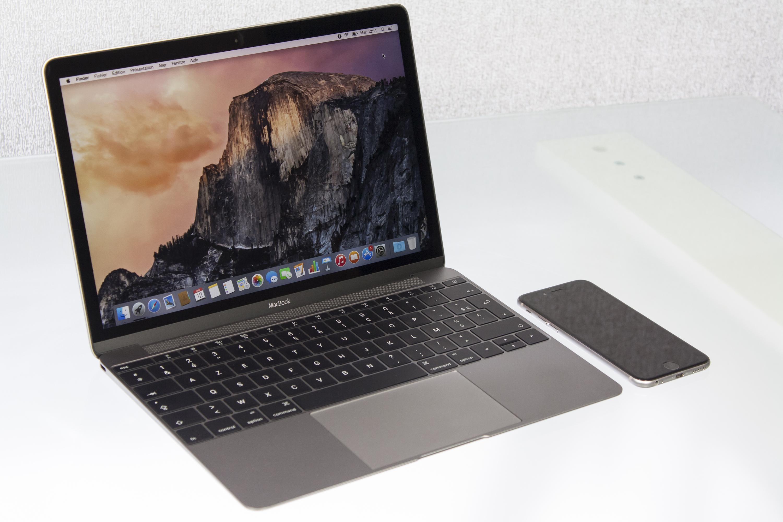 mac  apercu du macbook gris sideral ghz