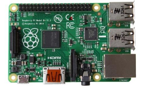 Le Raspberry Pi B+ passe à 22€seulement
