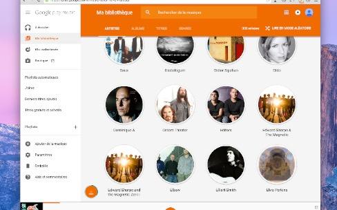 Google Play Music renouvelle son interface dans le navigateur