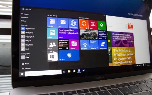 Windows : un peu trop à l'aise sur les nouveaux MacBook ?