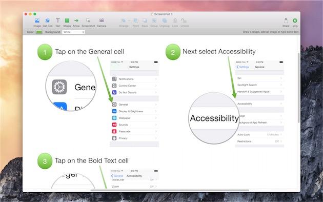 Napkin est une application assez récente qui exploite à merveille les nouvelles fonctionnalités d'OS X