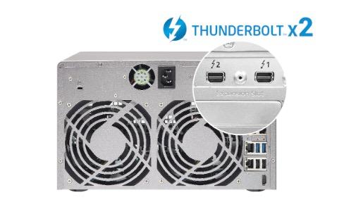 QNAP présente les premiers NAS Thunderbolt