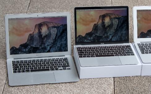 Le guide d'achat des Mac portables 2015
