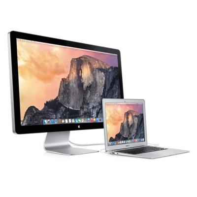 Dans le cas présent, il s'agit d'un écran Apple Thunderbolt, mais vous avez compris l'idée…