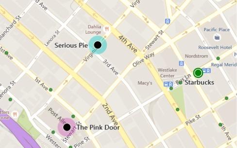 Bing Maps remanié en s'inspirant de Google Maps