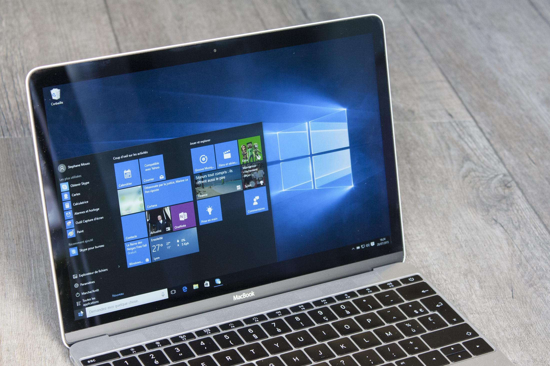 Confidentialit comment windows 10 g re votre vie priv e macgeneration - Comment classer ses photos avec windows 10 ...