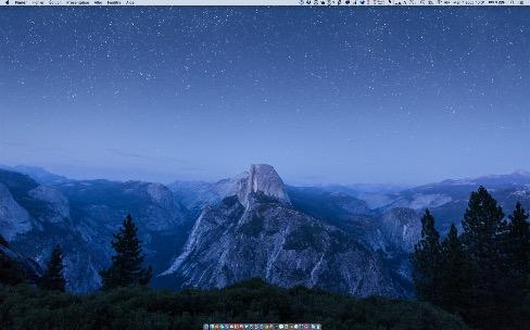 OSX El Capitan gagne un nouveau fond d'écran