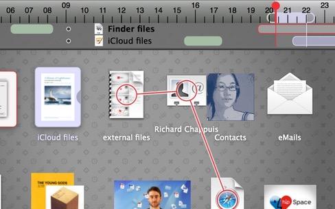 hipSpace, un bureau avancé avec Time Machine intégrée pour OS X