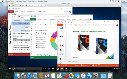 VMware Fusion 8 : support de Windows 10 et d'El Capitan, des performances « quasi natives »