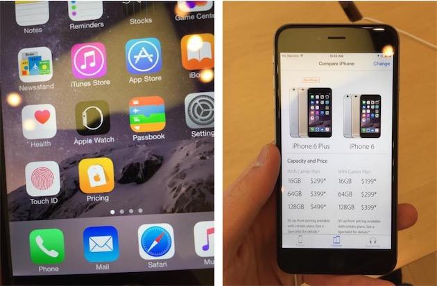 Apple store les ipad smart sign remplac s par une app for Agrandir fenetre mac