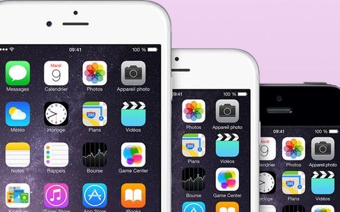 Nouvelle gamme: pas d'iPhone 6c, plus d'iPhone 5c, mais des iPhone 6 encore là