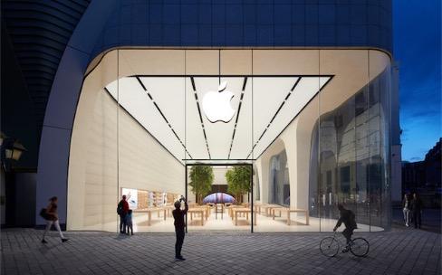 Les Apple Store d'Infinite Loop et de Bruxelles ouvrent au public