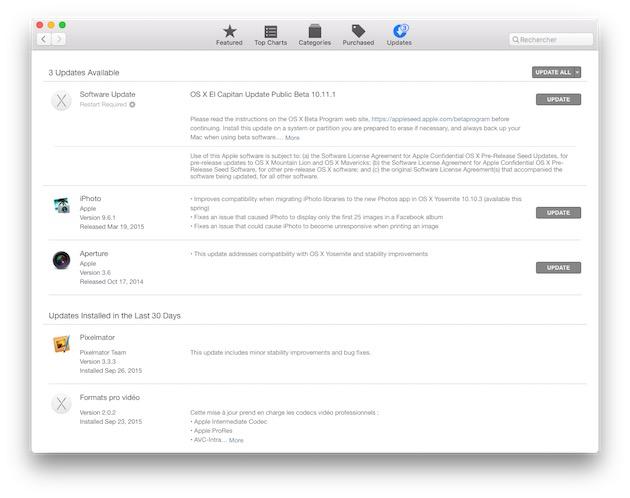 iphoto et aperture de retour dans le mac app store macgeneration. Black Bedroom Furniture Sets. Home Design Ideas