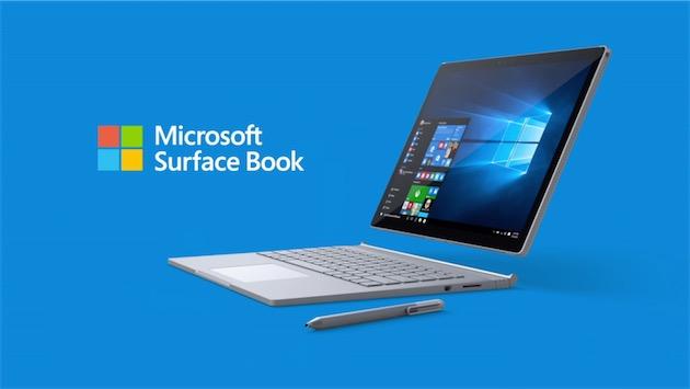 materiel  le surface book est en precommande au prix des macbook pro