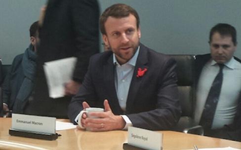 Emmanuel Macron dans la Silicon Valley : de la grande visite chez Apple