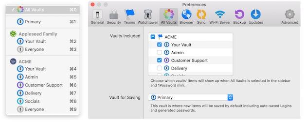 1Password 6 : des coffres mieux organisés et iCloud qui s