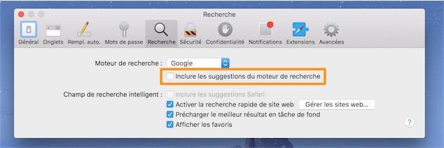 Faute de mieux, désactiver cette option permet d'utiliser normalement Safari.