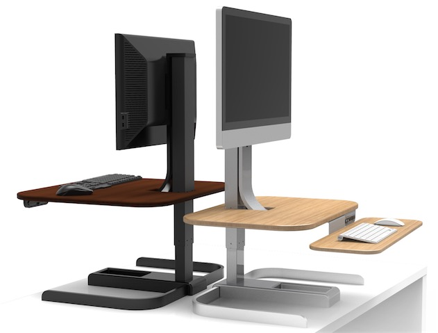nextdesk popularise presque le bureau debout macgeneration. Black Bedroom Furniture Sets. Home Design Ideas