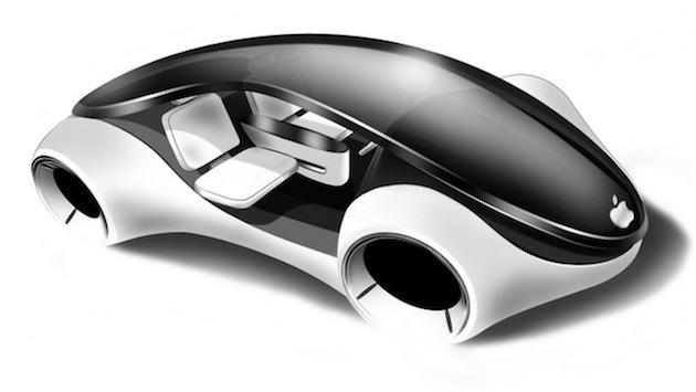 Ceci ne sera certainement pas la voiture Apple (concept).