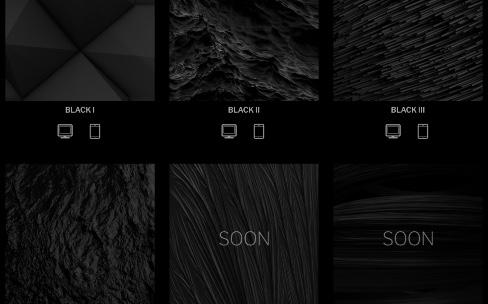 Des fonds d'écran presque noirs pour vos Mac et iPhone