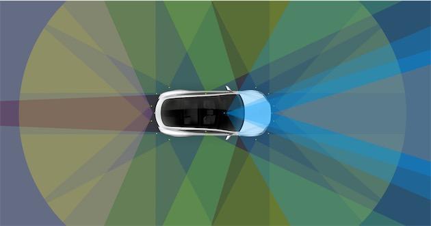 Les nouveaux capteurs installés sur toutes les Tesla à partir de maintenant permettent une conduite vraiment autonome. Cliquerpouragrandir