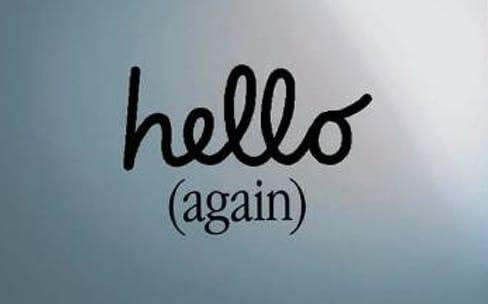 Hello Again : que vous inspire le slogan du special event ?