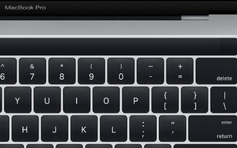Des images de la Magic Toolbar des nouveaux MacBook Pro dans macOSSierra 10.12.1