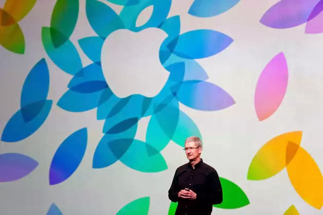 Tim Cook. Image Apple.