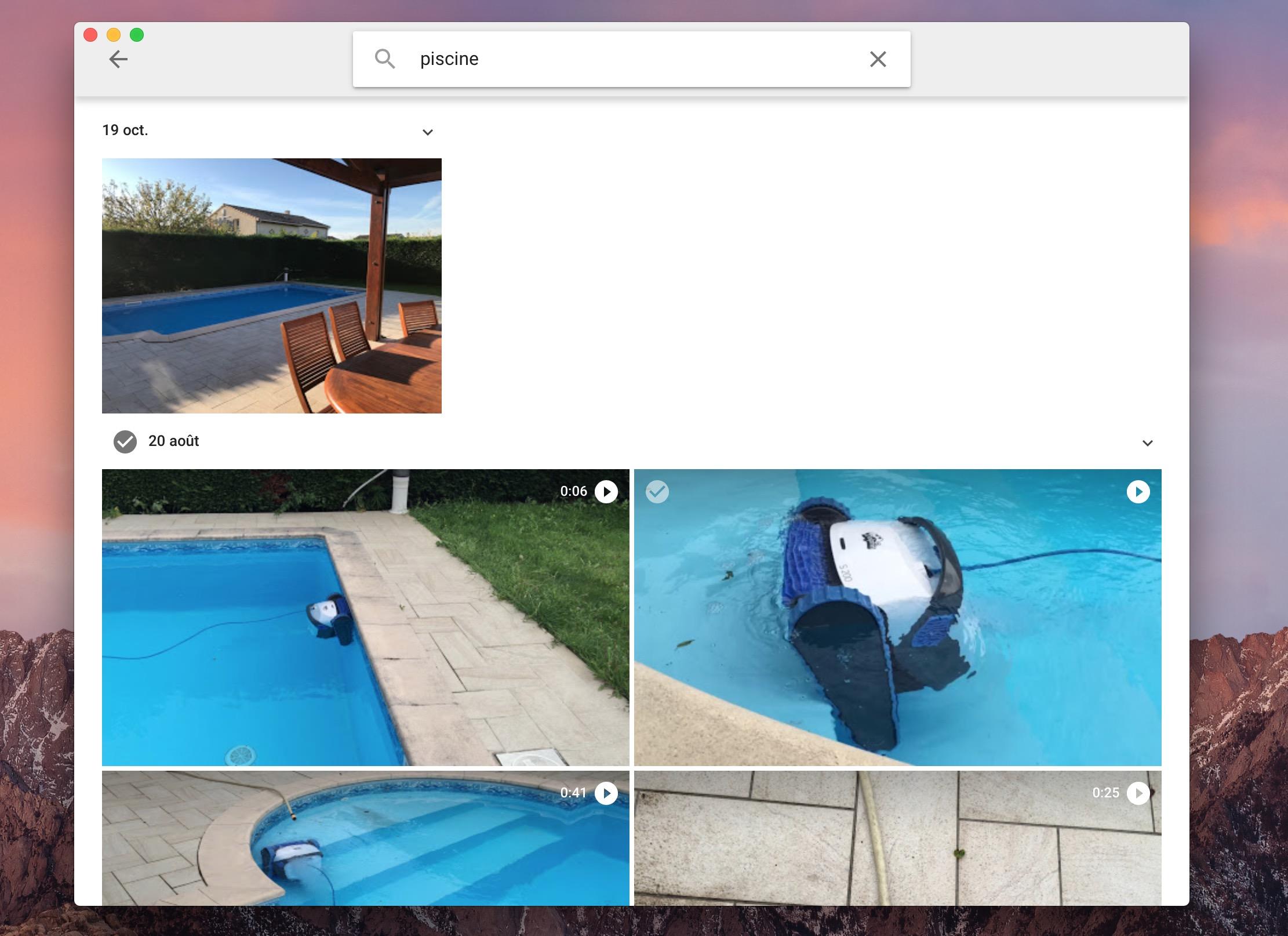 Phoebe int gre un petit peu mieux google photos dans macos for Agrandir fenetre mac