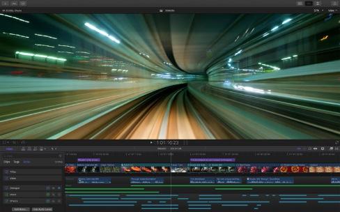 Final Cut Pro 10.3 et sa nouvelle timeline sont disponibles