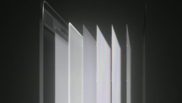 Les différentes couches qui composent l'écran des nouveaux MacBookPro. Extrait du Special Event Apple.