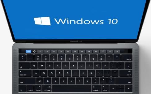 La Touch Bar affichera les touches de fonctions sous Windows