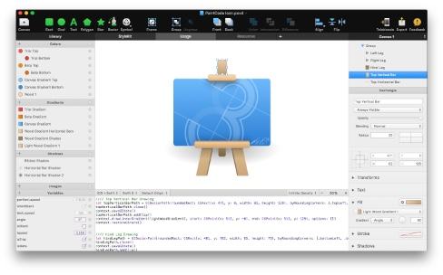 PaintCode3 dessine en Swift3, pour Android et le web