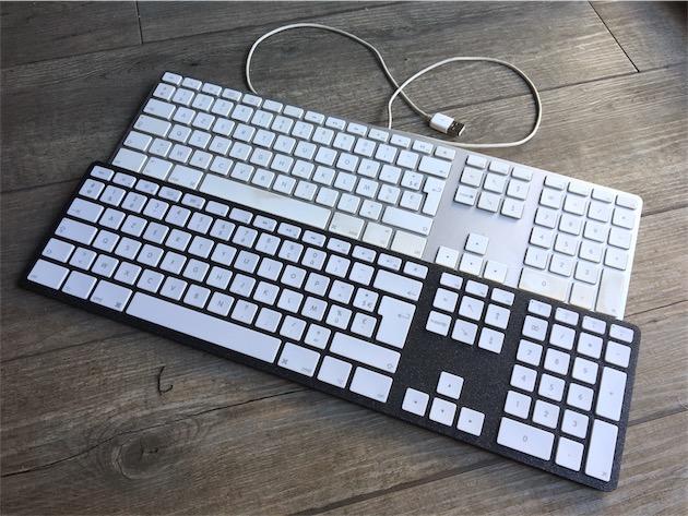 Matias : un clavier étendu filaire pour Mac, avec le