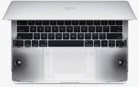 Le son des MacBookPro est effectivement bien meilleur
