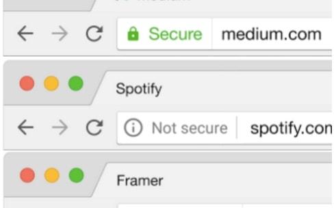Chrome va bientôt pointer du doigt les sites non sécurisés