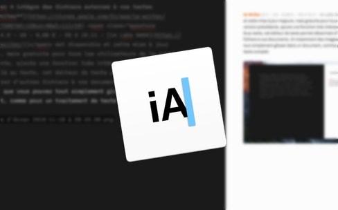 iA Writer4 intègre des fichiers externes à vos textes