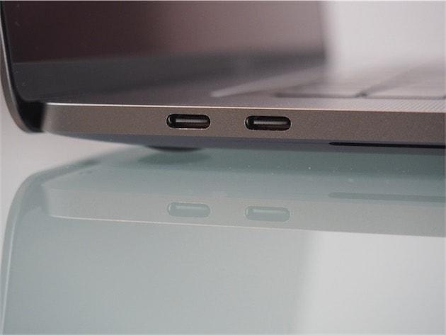 Les deux autres connecteurs USB-C.