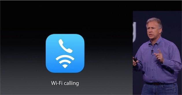 Le Wi-FI Calling est géré par iOS depuis iOS 8 !