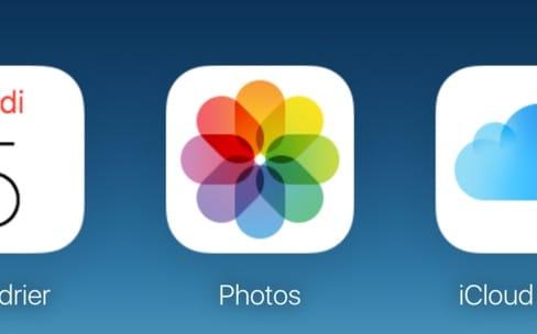 iCloud.com : Apple retouche l'interface de Photos