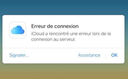 Des problèmes d'accès avec iCloud [màj : tout est rentré dans l'ordre]