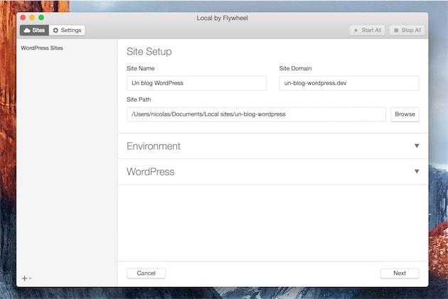 Local simplifie le développement WordPress sur un Mac