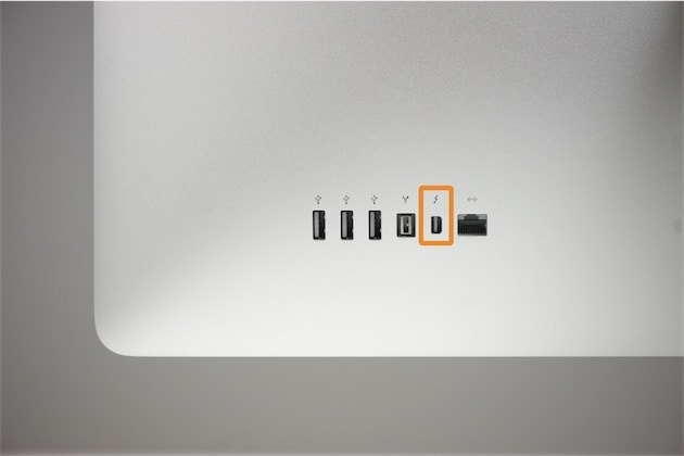 on peut utiliser un thunderbolt display sans le c ble fourni macgeneration. Black Bedroom Furniture Sets. Home Design Ideas