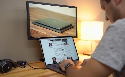 L'écran Ultrafine 4K bridé avec les MacBook2015
